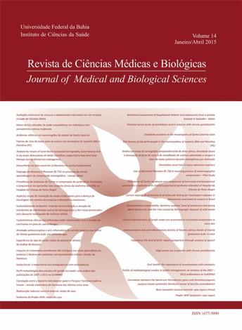 Visualizar v. 14 n. 1 (2015): Revista de Ciências Médicas e Biológicas