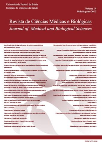 Visualizar v. 14 n. 2 (2015): Revista de Ciências Médicas e Biológicas