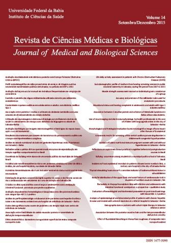 Visualizar v. 14 n. 3 (2015): Revista de Ciências Médicas e Biológicas
