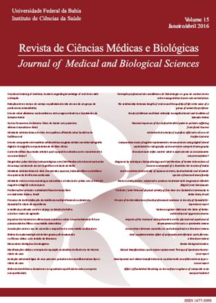 Visualizar v. 15 n. 1 (2016): REVISTA DE CIÊNCIAS MÉDICAS E BIOLÓGICAS