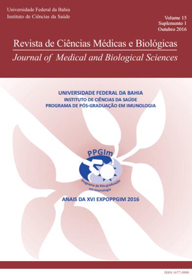 Visualizar v. 15 n. 1 (2016): REVISTA DE CIÊNCIAS MÉDICAS E BIOLÓGICAS (suplemento)