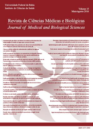 Visualizar v. 15 n. 2 (2016): REVISTA DE CIÊNCIAS MÉDICAS E BIOLÓGICAS