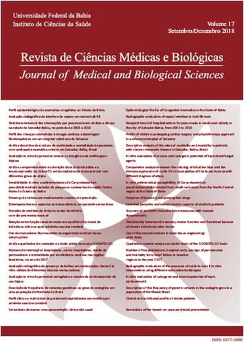Visualizar v. 17 n. 3 (2018): Revista de Ciências Médicas e Biológicas