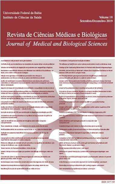 Visualizar v. 18 n. 3 (2019): Revista de Ciências Médicas e Biológicas