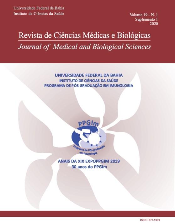 Visualizar v. 19 n. 1 (2020): Revista de Ciências Médicas e Biológicas (Suplemento)
