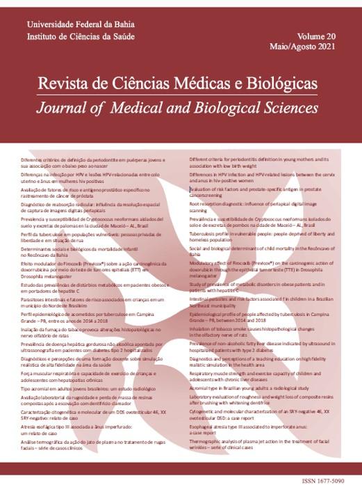 Visualizar v. 20 n. 2 (2021): Revista de Ciências Médicas e Biológicas