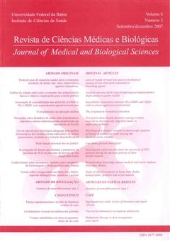 Visualizar v. 6 n. 3 (2007): Revista de Ciências Médicas e Biológicas