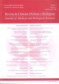 Visualizar v. 7 n. 1 (2008): Revista de Ciências Médicas e Biológicas