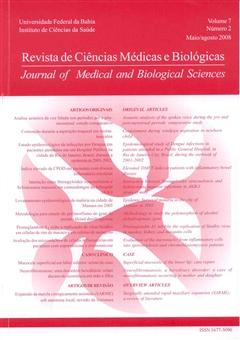 Visualizar v. 7 n. 2 (2008): Revista de Ciências Médicas e Biológicas