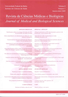 Visualizar v. 8 n. 1 (2009): Revista de Ciências Médicas e Biológicas