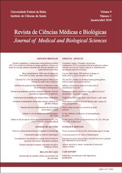 Visualizar v. 9 (2010): (Suplemento) Revista de Ciências Médicas e Biológicas