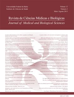 Visualizar v. 12 n. 2 (2013): REVISTA DE CIÊNCIAS MÉDICAS E BIOLÓGICAS