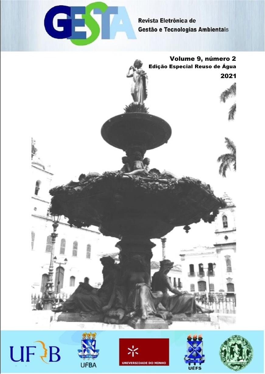 Visualizar v.9, n.2 (2021)   Edição Especial REÚSO DE ÁGUAS