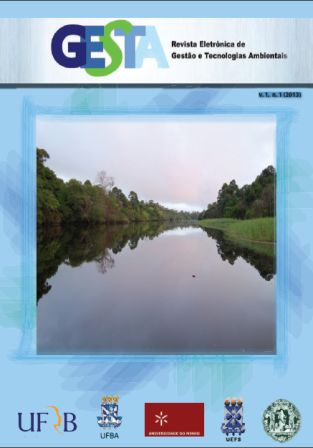 Edição Gestão e Manejo de Águas - v.01, n.01