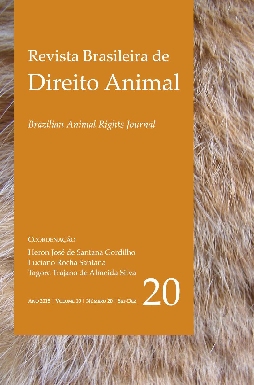 Visualizar v. 10 n. 20 (2015): Revista Brasileira de Direito Animal