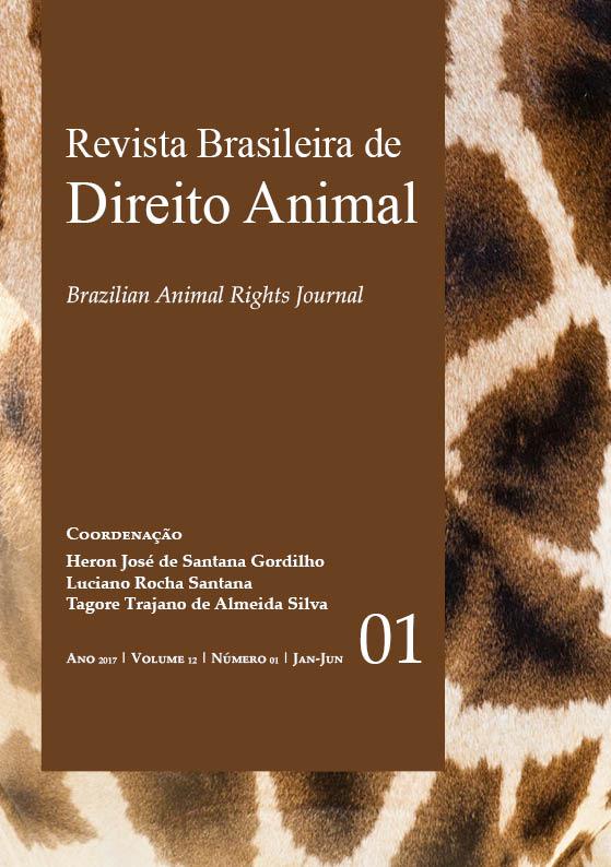 Visualizar v. 12 n. 1 (2017): Revista Brasileira de Direito Animal