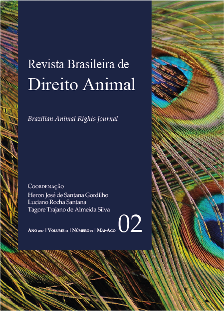 Visualizar v. 12 n. 02 (2017): Revista Brasileira de Direito Animal