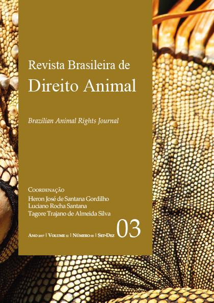 Visualizar v. 12 n. 03 (2017): Revista Brasileira de Direito Animal
