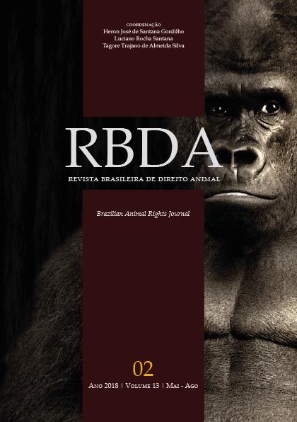 Visualizar v. 13 n. 2 (2018): Revista Brasileira de Direito Animal