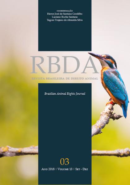 Visualizar v. 13 n. 3 (2018): Revista Brasileira de Direito Animal