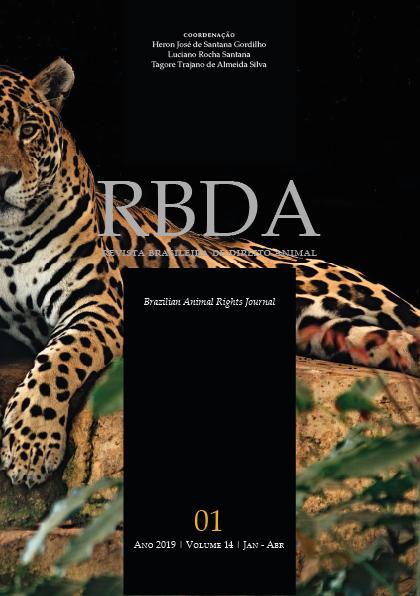 Visualizar v. 14 n. 1 (2019): Revista Brasileira de Direito Animal