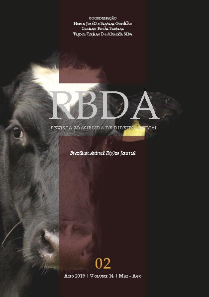 Visualizar v. 14 n. 2 (2019): Revista Brasileira de Direito Animal