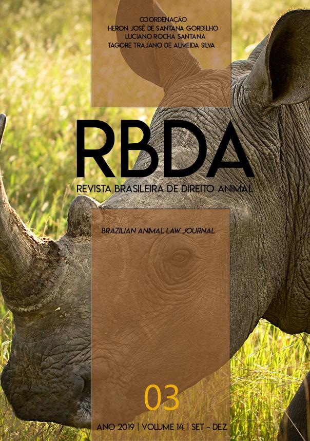 Visualizar v. 14 n. 3 (2019): Revista Brasileira de Direito Animal