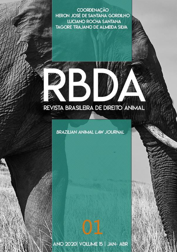 Visualizar v. 15 n. 1 (2020): Revista Brasileira de Direito Animal