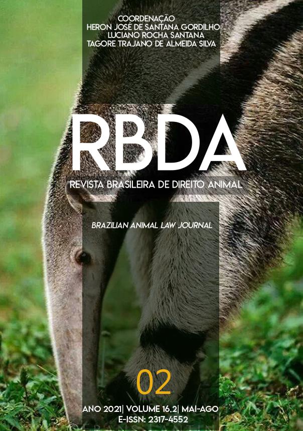 Visualizar v. 16 n. 2 (2021): Revista Brasileira de Direito Animal