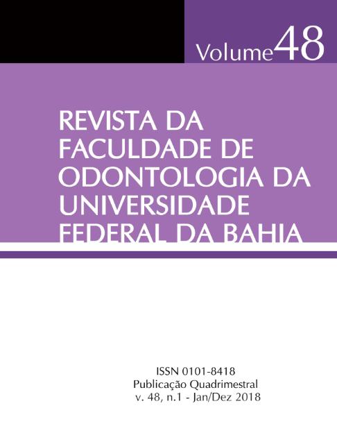 Visualizar v. 48 n. 1 (2018)