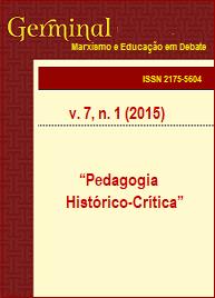 Visualizar v. 7 n. 1 (2015): PEDAGOGIA HISTÓRICO-CRÍTICA