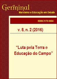 Visualizar v. 8 n. 2 (2016): LUTA PELA TERRA E EDUCAÇÃO DO CAMPO