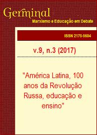 Visualizar v. 9 n. 3 (2017): AMÉRICA LATINA, 100 ANOS DA REVOLUÇÃO RUSSA, EDUCAÇÃO E ENSINO