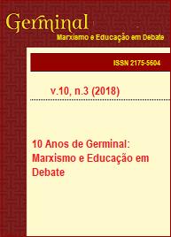 Visualizar v. 10 n. 3 (2018): 10 ANOS DE GERMINAL: MARXISMO E EDUCAÇÃO EM DEBATE