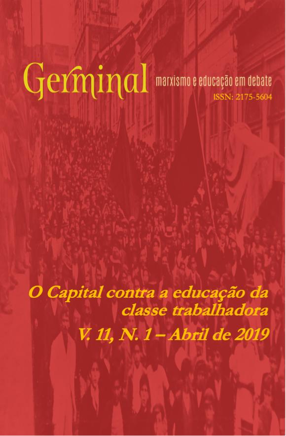 Visualizar v. 11 n. 1 (2019): O CAPITAL CONTRA A EDUCAÇÃO DA CLASSE TRABALHADORA