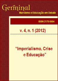 Visualizar v. 4 n. 1 (2012): IMPERIALISMO, CRISE E EDUCAÇÃO
