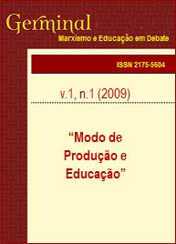Visualizar v. 1 n. 1 (2009): MODO DE PRODUÇÃO E EDUCAÇÃO