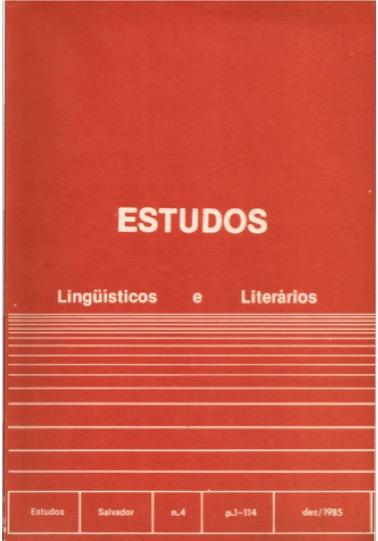 Visualizar n. 4 (1985)