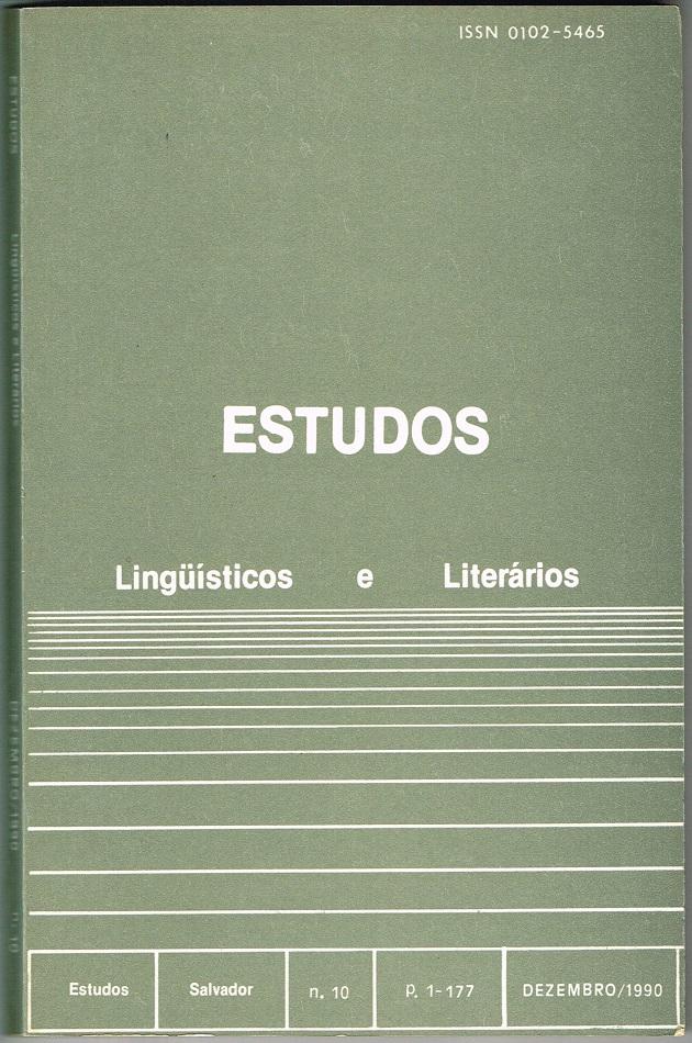 Visualizar n. 10 (1990)