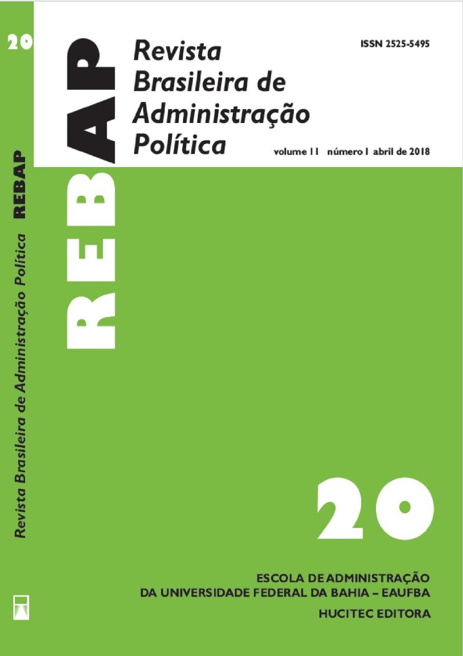 Visualizar v. 11 n. 1 (2018): REBAP 20