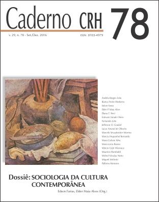 Visualizar v. 29 n. 78 (2016): Dossiê: SOCIOLOGIA DA CULTURA CONTEMPORÂNEA. Coord. EDSON FARIAS E ELDER MAIA ALVES