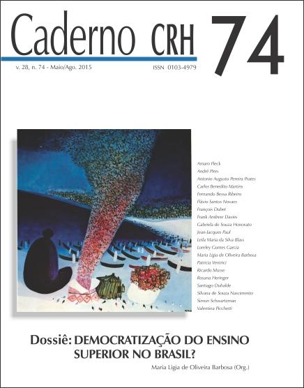 Visualizar v. 28 n. 74 (2015): V.28, Nº.74,Maio/Ago.2015.DOSSIÊ:Democratização do Ensino Superior no Brasil? Coord.Maria Lígia de Oliveira Barbosa