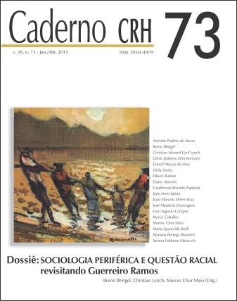Visualizar v. 28 n. 73 (2015): V.28, Nº.73,Jan/abr2015.DOSSIÊ:Sociologia periféric...Guerreiro Ramos.Coord.Breno Bringel,Christian Lynch,Marcos Maio