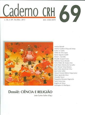 Visualizar v. 26 n. 69 (2013): V. 26, Nº 69, set./dez. 2013. DOSSIÊ: Ciência e Religião. Coord. João Carlos Salles