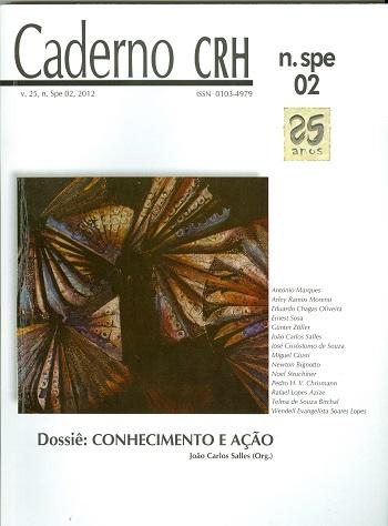 Visualizar v. 25 n. 2 (2012): NÚMERO ESPECIAL: Conhecimento e Ação. Coord. João Carlos Salles