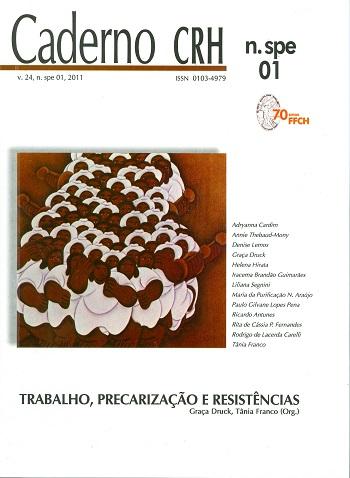 Visualizar v. 24 n. 1 (2011): Número Especial: Trabalho, Precarização e Resistências