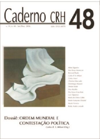 Visualizar v. 19 n. 48 (2006): DOSSIÊ: Ordem Mundial e Contestação Política - Coord. Carlos R. S. Milani (Org.)