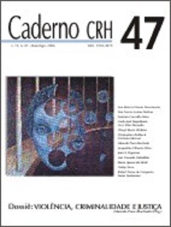 Visualizar v. 19 n. 47 (2006): DOSSIÊ: Violência, Criminalidade e Justiça - Coord. Eduardo Paes-Machado (Org.)