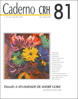Visualizar v. 30 n. 81 (2017): V. 30, Nº 81(2017) - DOSSIÊ: A ATUALIDADE DE ANDRÉ GORZ. COORD. JOSUÉ PEREIRA DA SILVA.