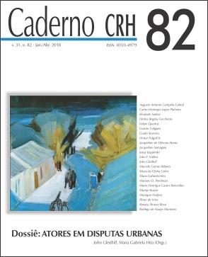 Visualizar v. 31 n. 82 (2018): Dossiê: ATORES EM DISPUTAS URBANAS. Coord. MARIA GABRIELA HITA; JOHN GLEDHILL